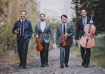 The Miró Quartet Photo courtesy of The Miró Quartet.