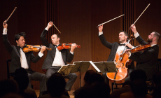 Home and Away: The Miró Quartet's Fall Texas Season
