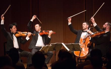 Home and Away: The Miró Quartet's Fall Texas Season