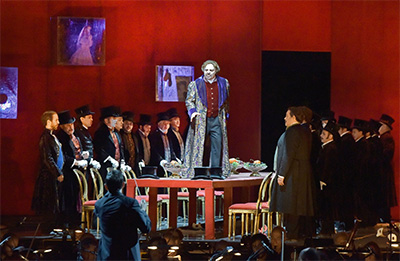 The Cast of Rigoletto, Jerusalem Opera Festival. Photo by Yossi Zwecker.