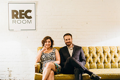 Stephanie Wittels Wachs & Matt Hune, Rec Room Co-Founders. Photo by Chloe Gonzalez.