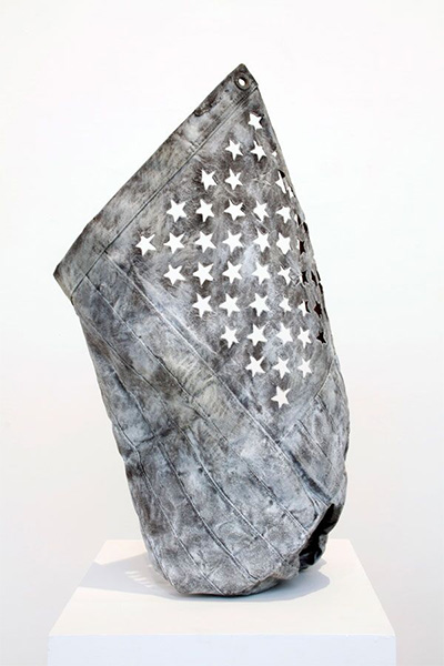 Joseph Havel, One Star, 2010, Bronze.