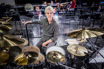 Stewart Copeland, a composer, drummer and founder of The Police, performs with the San Antonio Symphony as part of The Tyrant's Crush Concerto at the Tobin Center on Nov. 4-5 at 8 p.m.