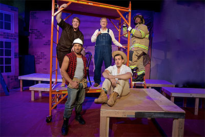 Jubilee Theatre presents Working:A Musical, directed by William Bill Earl Ray through Oct. 30. Photo by Cecil Fuqua