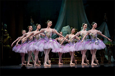 Artists of Houston Ballet in Ben Stevenson's The Sleeping Beauty Photo by Nerio Photography.