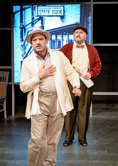 Jakie Cabe (Victor) and Randy Pearlman (Chick) in Bruce Graham's, Funnyman.