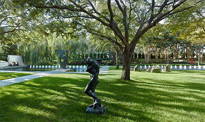 Nasher Sculpture Center garden, Credit Tim Hursley.