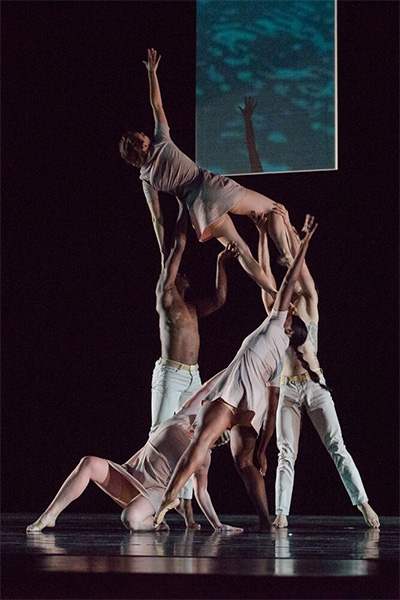 Utah's Repertory Dance Theater in Andy Noble's Filament. Photo by Sharon Kain.