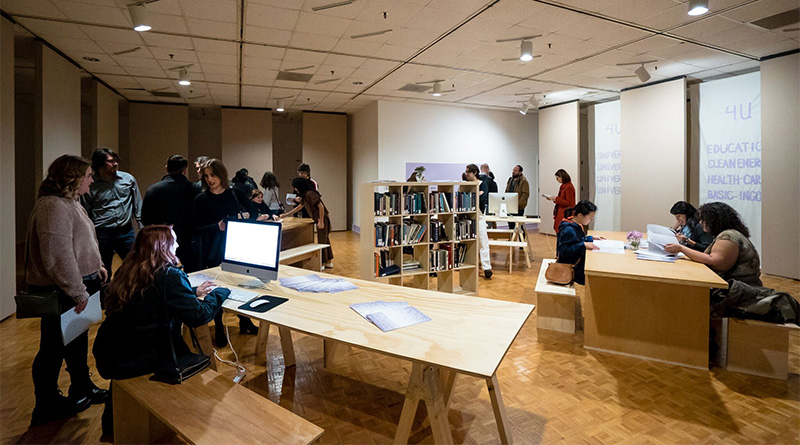Dropout By Dropping In: <em>The Co-work Space for Potential Dropouts</em> at Pollock Gallery