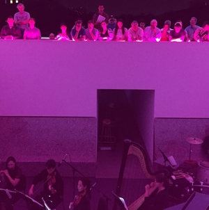 Color into Sound: Loop38 at Turrell Skyspace