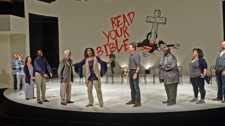 It Happened in Texas: A New Take on <em>Inherit the Wind</em> at DTC