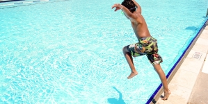 Forklift Danceworks Dives into Austin's Public Pools