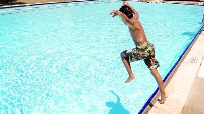 Forklift Danceworks Dives into Austin's Public Pools
