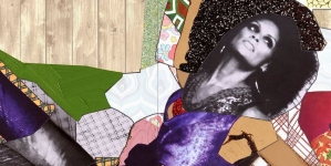 Mickalene Thomas: Waiting on a Prime-Time Star at Moody Center for the Arts