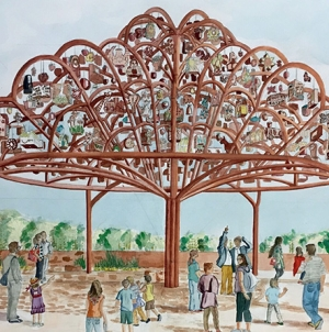 San Antonio Tree of Life: Margarita Cabrera and Mission Espada