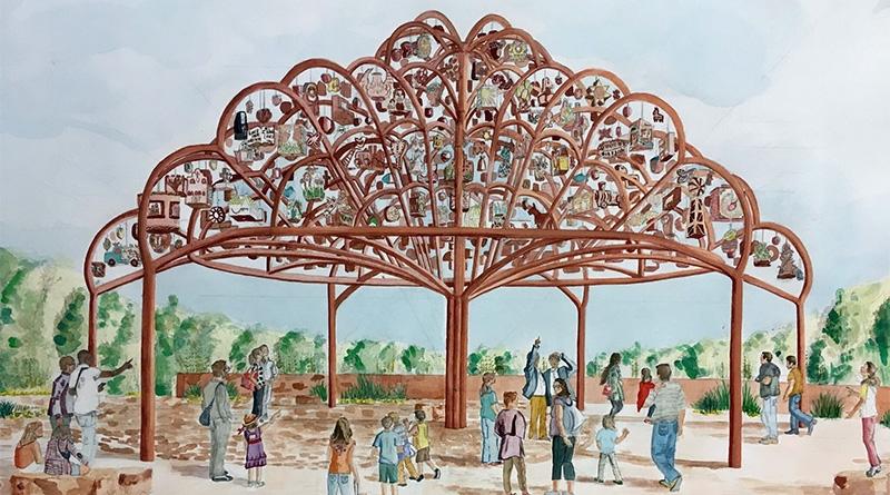San Antonio Tree of Life: Margarita Cabrera and Mission Espada